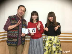 同じく、左からボク、岩男さん、夏怜さん