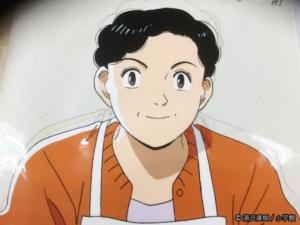 「YAWARA!」でトコさん演じた玉緒さんのセル画。