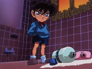 動画:名探偵コナン - 第121話「バスルーム密室事件(前編)」