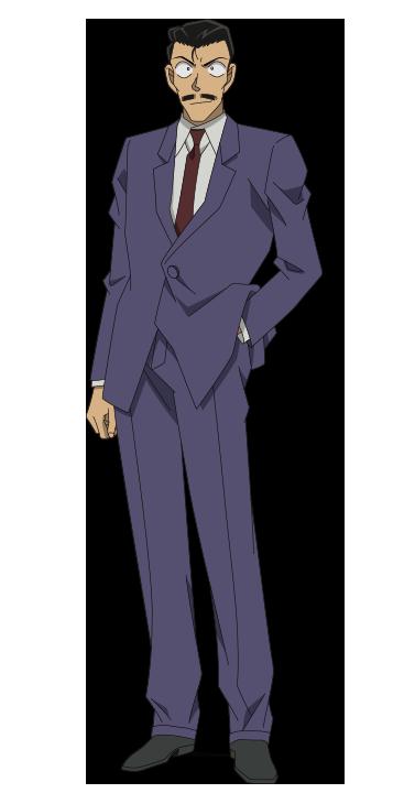 名探偵コナンの毛利小五郎